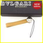 ショッピングブルガリ ストラップ ブルガリ BVLGARI 携帯ストラップ メンズ可 ブルガリブルガリ 中古 美品 セール J14747