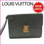 ルイヴィトン Louis Vuitton セカンドバッグ クラッチバッグ メンズ可 クラド M30194 タイガ (参考定価91350円) 中古 激安 セール J9379