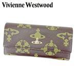 ヴィヴィアン ウエストウッド 長財布 L字ファスナー 財布 オーブ Vivienne Westwood 中古