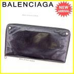 バレンシアガ BALENCIAGA 長財布 財布 ラウンドファスナー クラッチウォレット メンズ オーガナイザー 326418 クラシック [中古] 人気 セール T2246