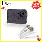 ディオール Dior 化粧ポーチ コスメポーチ レディース レディディオール メイクブラシ4点セット 中古 良品 セール T5739
