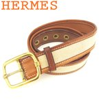 エルメス HERMES ベルト ♯85サイズ レディース メンズ ピン式バックル ゴールドバックル 中古 訳あり セール T7996