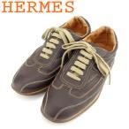 エルメス HERMES スニーカー シューズ 靴 メンズ ♯41 ローカット クイック 中古
