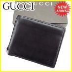 グッチ GUCCI 二つ折り財布 財布 メンズ可 中古 人気 セール H512