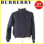 バーバリー BURBERRY コート シングルZIP メンズ ♯LLサイズ ホース刺繍 中古 良品 セール J13522