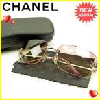 シャネル CHANEL サングラス メンズ可 ココマーク 中古 美品 セール J15046