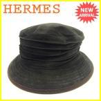 エルメス HERMES 帽子 ♯58サイズ メンズ可 ティアード モッチ ハット 中古 良品 セール J17230