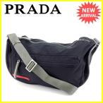 プラダ PRADA ショルダーバッグ 斜めがけショルダー 男女兼用 4VS055 スポーツライン 中古 人気 セール K402
