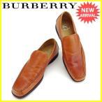 バーバリー BURBERRY シューズ 靴 メンズ ♯25ハーフ スクエアトゥ [中古] 人気 セール L1215