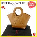 ロベルタディカメリーノ ROBERTA DI CAMERINO ハンドバッグ トートバッグ レディース アールハンド 中古 良品 人気 S313