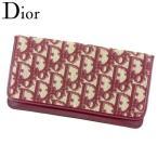 ディオール Dior 長札入れ 長財布 レディース トロッター 中古 人気 セール T8141