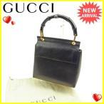 グッチ Gucci ハンドバッグ ミニハンドバッグ メンズ バンブー [中古] 人気 セール Y6243