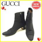グッチ GUCCI ブーツ シューズ 靴 レディース ♯37C ショート [中古] 人気 セール Y7038