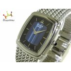 セイコークレドール SEIKO CREDOR 腕時計 5A70-3C40 レディース 黒×ネイビー        値下げ 20190614