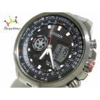 シチズン CITIZEN 腕時計 美品 プロマスター U200-R005634 メンズ 黒         スペシャル特価 20190919