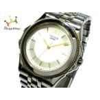 セイコークレドール SEIKO CREDOR 腕時計 美品 パシフィーク 8J81-6A20 メンズ 白×ゴールド  値下げ 20190903