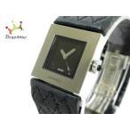 シャネル CHANEL 腕時計 マトラッセ - レディース 黒×シルバー   スペシャル特価 20200517