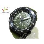 シチズン CITIZEN 腕時計 美品 プロマスター J280-R008463 メンズ カーキ 新着 20190910