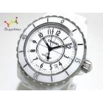 シャネル CHANEL 腕時計 J12 H0970 レディース ホワイトセラミック/38mm 白  値下げ 20191206