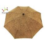 ボッテガヴェネタ BOTTEGA VENETA 折りたたみ傘 ブラウン×ダークブラウン 豹柄 ポリエステル   スペシャル特価 20200910