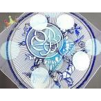 エルメス スカーフ カレ70 白×ネイビー×ライトブルー SUITE ET POURSUITE (追いかけっこ) 新着 20200730
