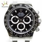 ロレックス ROLEX 腕時計 美品 デイトナ 116500LN メンズ 黒  値下げ 20210904