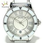 フォリフォリ FolliFollie 腕時計 - WF6T019BD レディース アイボリー 新着 20211005