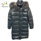 デュベティカ DUVETICA ダウンコート サイズ42 M レディース 美品 Deneb(デネブ) 黒 長袖/冬  値下げ 20211011