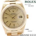 オーバーホール 新品仕上げ済 ROLEXロレックス デイデイト ref.18238 K18 金 無垢 ゴールド文字盤腕時計中古