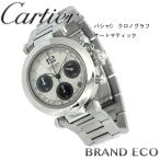 Cartierカルティエ パシャC クロノグラフ オートマティックW31048M7中古 ステンレス 腕時計