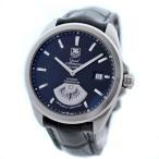 タグホイヤー グランドカレラ キャリバー6 腕時計 メンズ 自動巻き ブラック文字盤 シルバー ブラック WAV511A  中古 送料無料