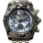 ブライトリング クロノマット44 腕時計 ウォッチ シルバー ステンレススチール(SS) A011B...