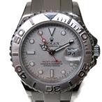 ロレックス ヨットマスター ウォッチ 腕時計 シルバー ステンレススチール(SS)×プラチナ 169622 ランクA