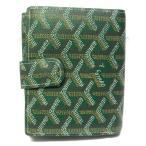 ゴヤール 二つ折り財布 財布 グリーン PVC BEX020089 ランクA