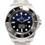 ロレックス シードゥエラー ディープシー 腕時計 ウォッチ ブルー ステンレススチール(SS) 126660 ランクS