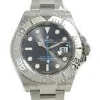 ロレックス ヨットマスター40 ロレジウム 腕時計 ウォッチ メンズ ダークロジウム ステンレススチール(SS)×PT 116622 ランクA