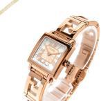フェンディ FENDI レディース腕時計 クワドロ ミニ スクエア 20mm ホワイトパール×ピンクゴールド F605524500 [在庫品]