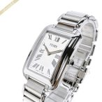 フェンディ FENDI メンズ 腕時計 クラシコ レクタンギュラー ホワイト×シルバー F703014000