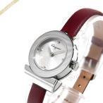 フェラガモ Ferragamo レディース腕時計 Gancino ガンチーニ 22mm シルバー×ボルドー F43040017 [在庫品]