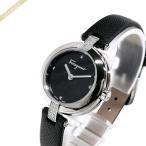 フェラガモ Ferragamo レディース 腕時計 MINIATURE 26mm ブラック×シルバー FAT040017 [在庫品]