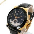 フェラガモ Ferragamo メンズ腕時計 1898 40mm ブラック×ゴールド FFO020017 [在庫品]