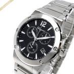 フェラガモ Ferragamo メンズ 腕時計 F-80 クロノグラフ 44m ブラック×シルバー FIJ050017 [在庫品]