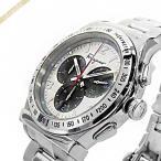 フェラガモ Ferragamo メンズ腕時計 クロノグラフ 42mm シルバー×ガンメタ SFDK00318 [在庫品]