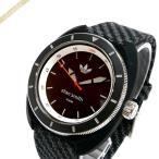アディダス adidas メンズ腕時計 アディダスオリジナルス スタンスミス 42mm ブラック×グレー ADH3155 [在庫品]