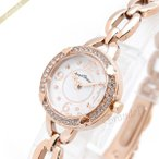 ショッピングハート エンジェルハート Angel Heart レディース腕時計 フォーハート 22mm ホワイト×ピンクゴールド FH22PW [在庫品]