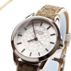 コーチ COACH レディース腕時計 クラシック シグネチャー 38mm シルバー×アイボリー 14501526 [在庫品]