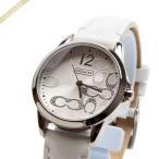 コーチ 女性用 腕時計 クォーツ 革ベルト
