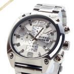 ディーゼル DIESEL メンズ腕時計 オーバーフロー クロノグラフ Overflow 49mm シルバー DZ4203