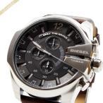 ディーゼル DIESEL メンズ腕時計 メガチーフ クロノグラフ Mega_Chief 52mm ダークグレー×ブラウン DZ4290 [在庫品]