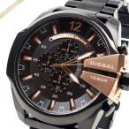 ディーゼル DIESEL メンズ腕時計 メガチーフ クロノグラフ Mega Chief 58mm ブラック×ピンクゴールド DZ4309 [在庫品]